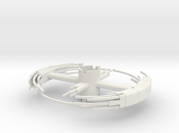 B.Y.O.S.S. Ring Square Construction ver2 in White Strong & Flexible