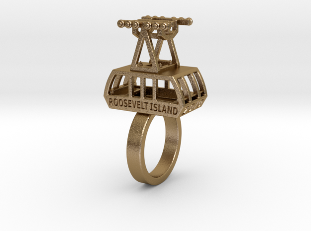 The New (2010) Roosevelt Island Tram Ring 3d printed