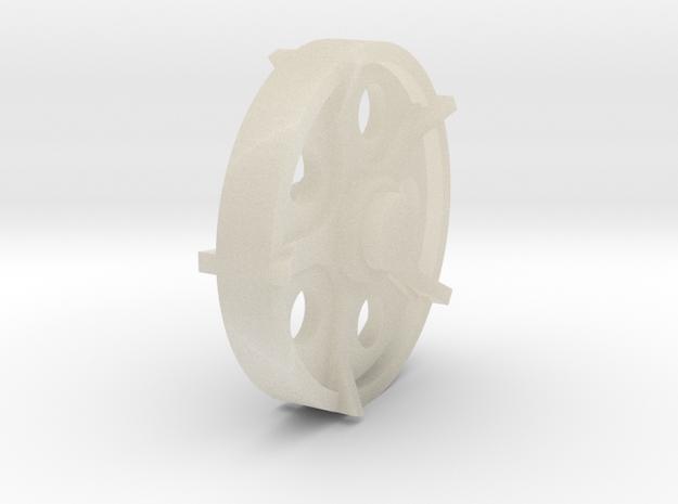 40mm wheel 3d printed
