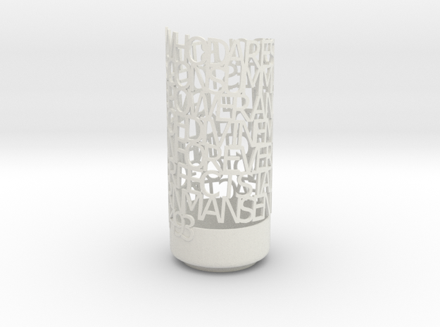 Light Poem dad\'s 3d printed