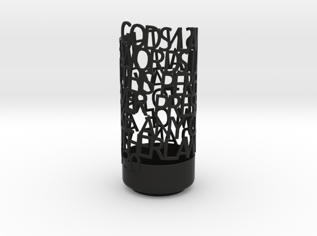 Light Poem jill 3d printed