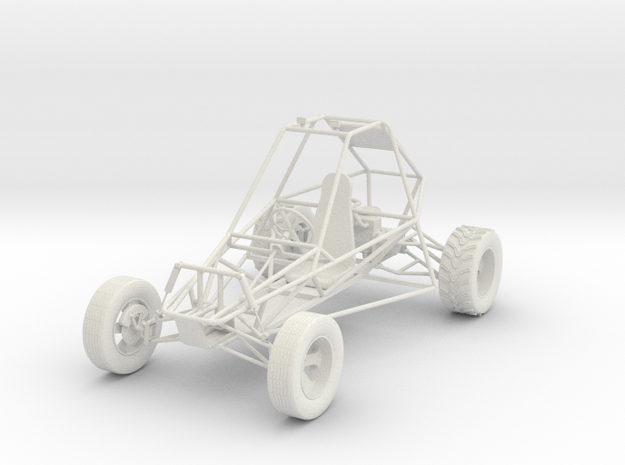 Dune Buggy 3d printed