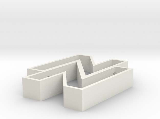 Sebo Cookie Cutter part 1 in White Natural Versatile Plastic