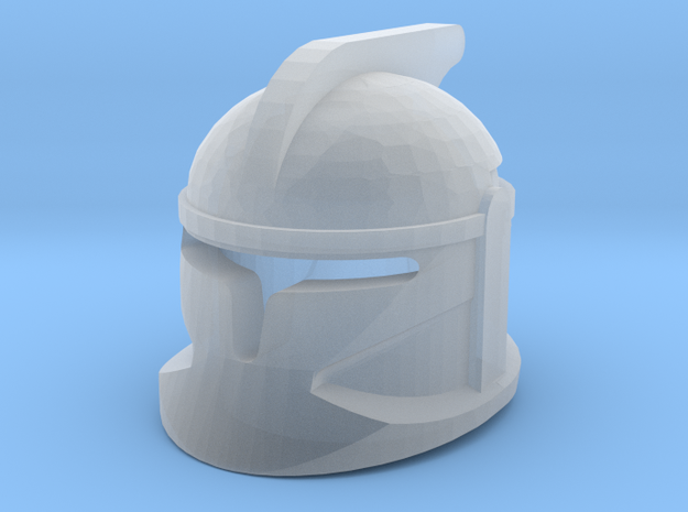 Clone P1 Helmet in Smooth Fine Detail Plastic