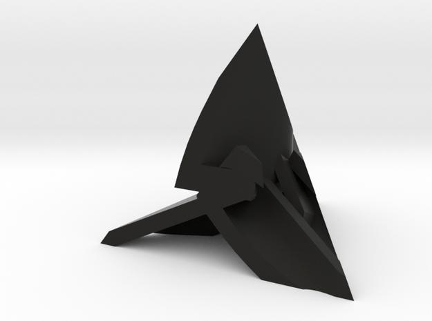 Frameless D4 3d printed