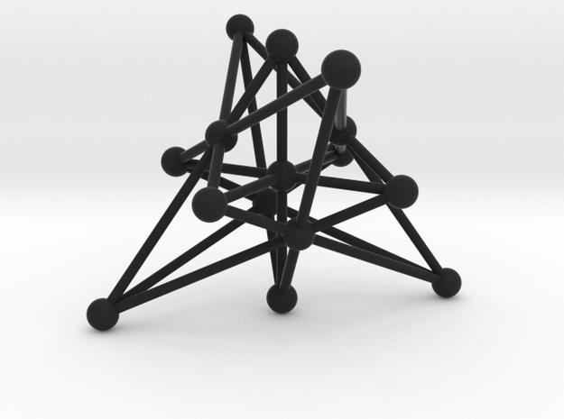 003: Generalized Quadrangle of order 2 3d printed