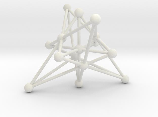 003: Generalized Quadrangle of order 2 in White Natural Versatile Plastic