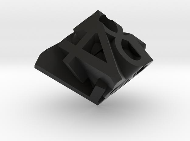Frameless D8 3d printed