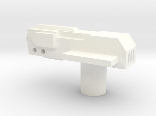 Sunlink - Revoltr Gun in White Processed Versatile Plastic