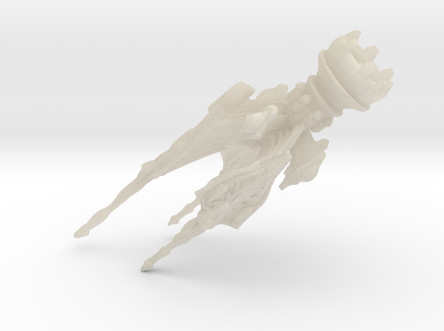 Clawed Ray Rescaled 3d printed
