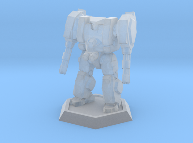 Mecha- Hunter (1/937th) in Smooth Fine Detail Plastic