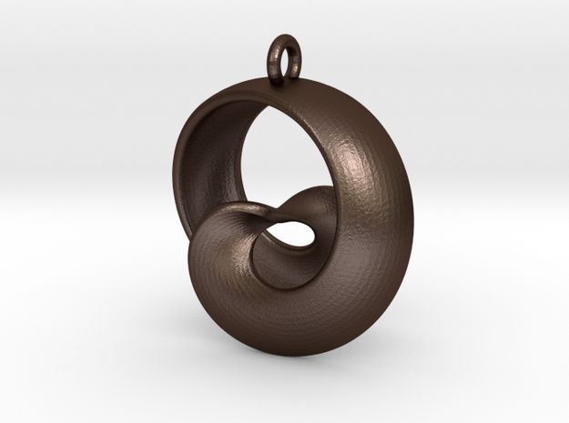 Half Mob-Tor: the half Mobius Torus Shell 3d printed