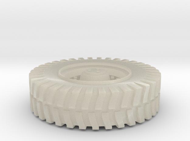 Truck Wheel 3d printed
