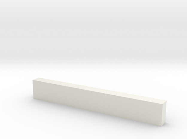 "8'0"" Wooden Crossbeam in White Strong & Flexible"