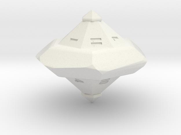 Fairer d13 in White Natural Versatile Plastic