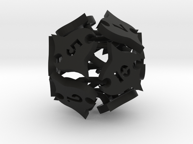 Tocrax Twelve-sided Die 3d printed