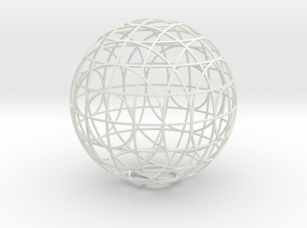 sectional ornament test 2 3d printed