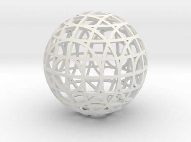 sectional ornament test 1 3d printed