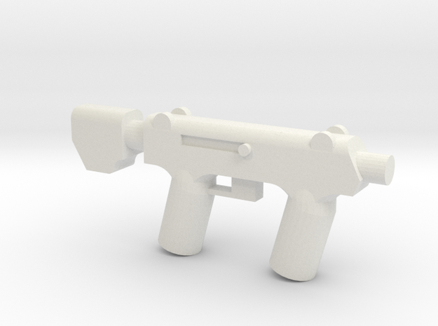 SMG in White Natural Versatile Plastic