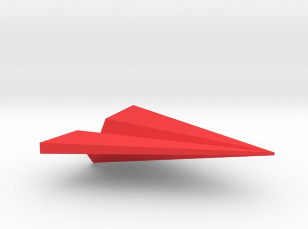Paper Airplane Pendant 3d printed
