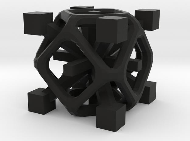 Complex 2-8 cube 3d printed