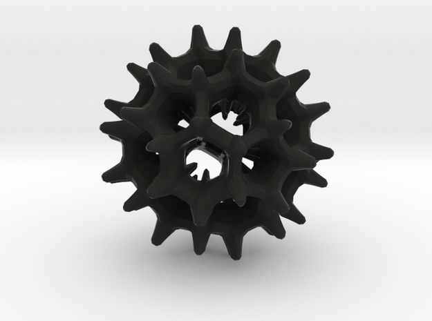 virus I 27mm 3d printed