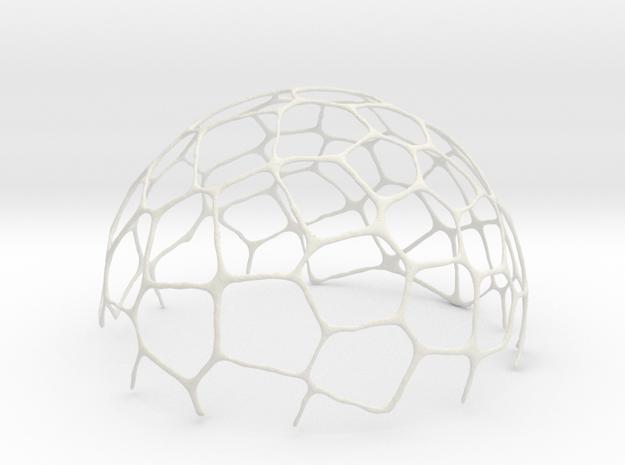 voronoi bowl 14 cm in White Natural Versatile Plastic