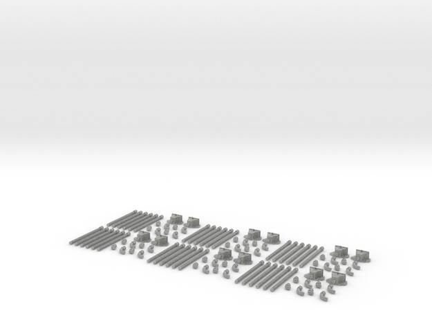 drainpipe_6pc 3d printed