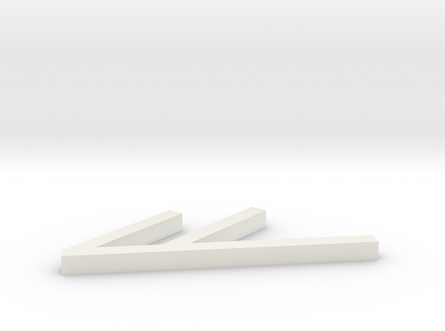 Nook Color stand in White Natural Versatile Plastic
