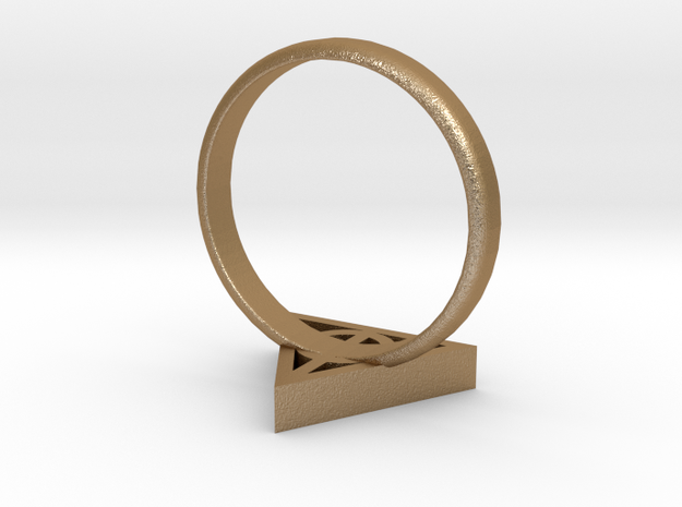 Harry Potter Deathly Hallows Ring 3d printed