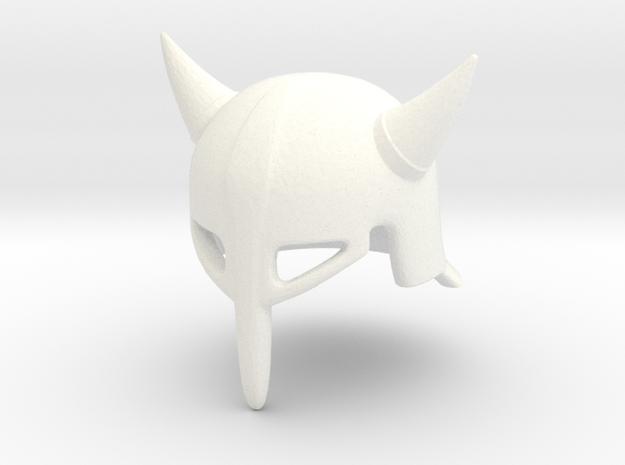 Fantasy Helmet T.L2 (tbn) in White Processed Versatile Plastic