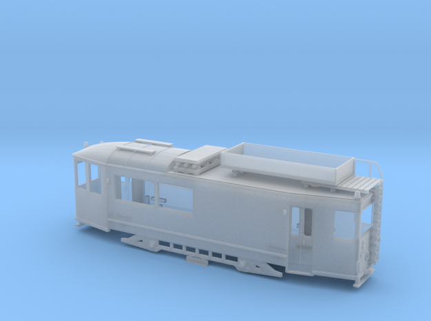 """Arbeitstriebwagen """"Thüringer Waldbahn"""" Spur TT in Smooth Fine Detail Plastic"""