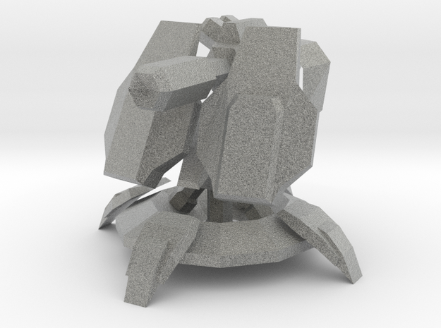 automated turret 3d printed