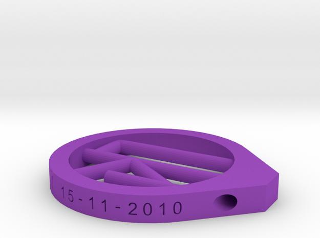 Olki Necklace 3d printed