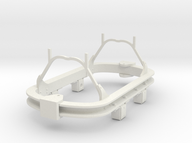 1/32 or 1/35 scale Skip underframe 3d printed