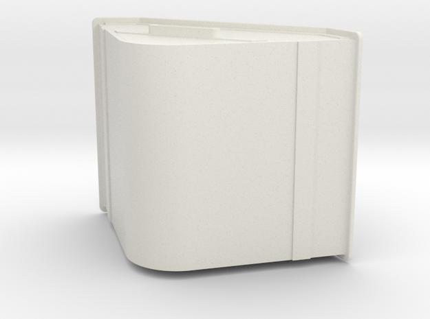 1/32 or 1/35 scale skip (welded)  in White Natural Versatile Plastic