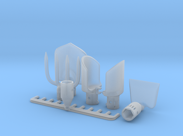 Desktop Garden Tools 3d printed