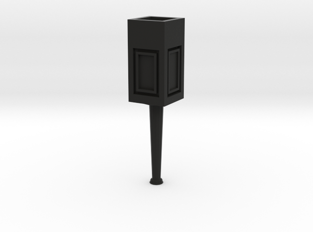 Concrete light post 1/32 3d printed