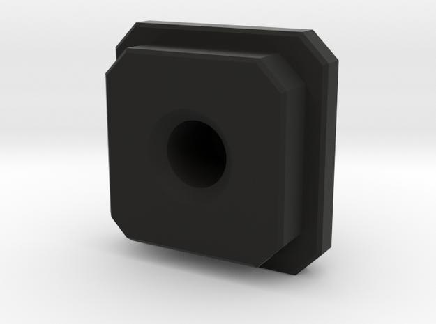connector block in Black Natural Versatile Plastic
