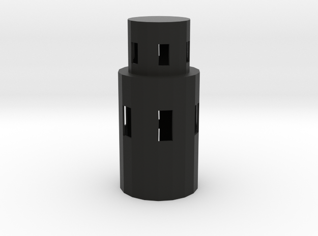 Rounded T 3d printed