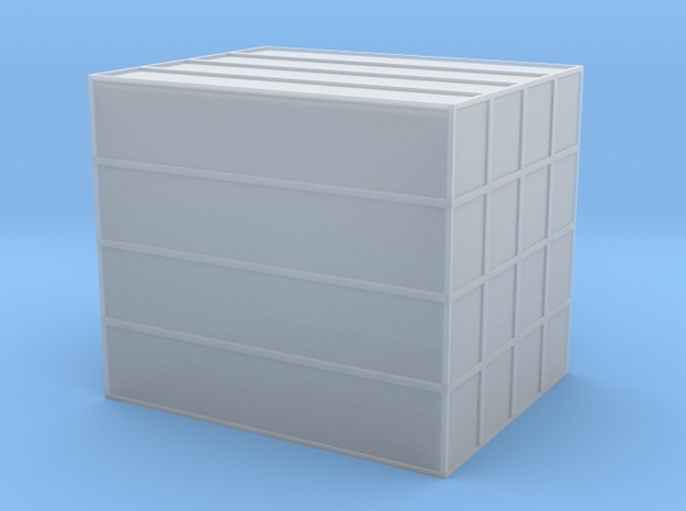 40 Foot Container Stack - Z scale in Smooth Fine Detail Plastic