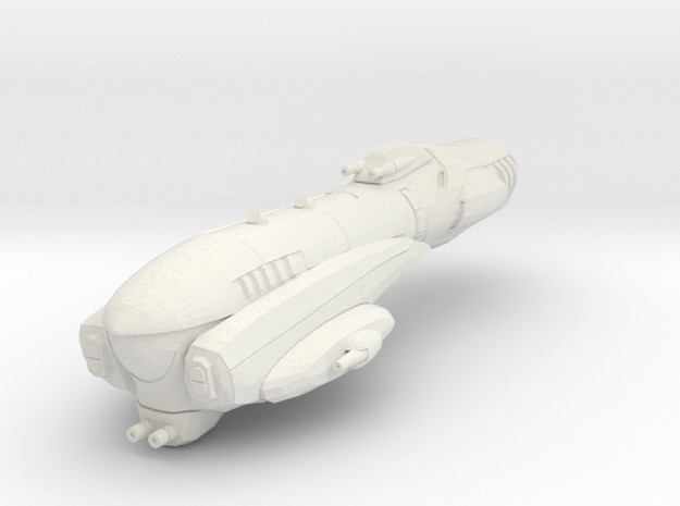 Imperial Assault Ship in White Natural Versatile Plastic