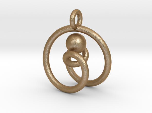 One ring to pwn the ball pendant 3d printed