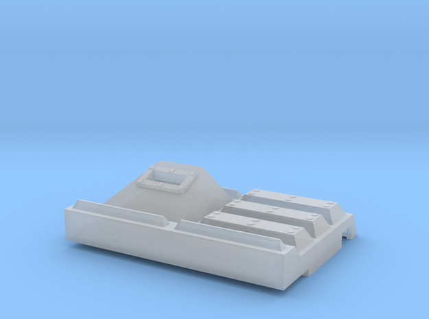 Extra Armor Plate Front in Smooth Fine Detail Plastic