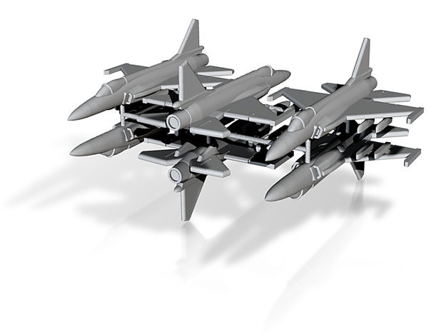 1/600 JF-17 Thunder (x6; FUD)* 3d printed
