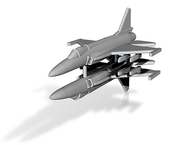1/350 JF-17 Thunder (x2) 3d printed