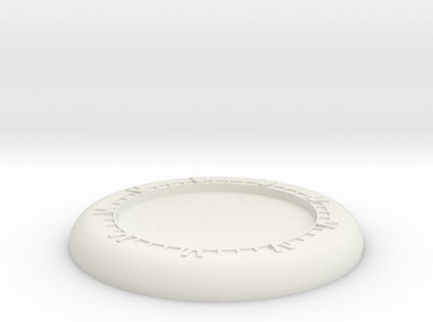 Generic base Ø30mm - Wormhole X-treme in White Natural Versatile Plastic