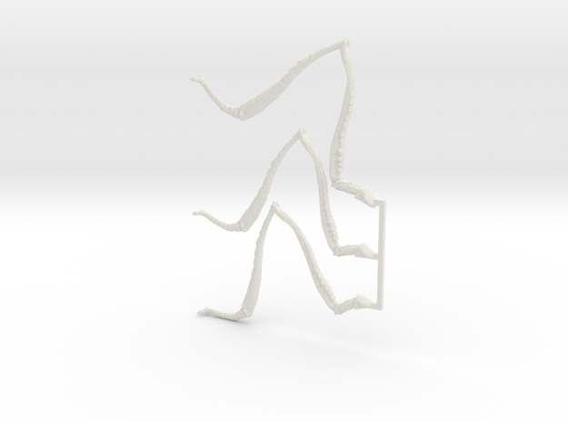 Giant Ant Legs! in White Natural Versatile Plastic
