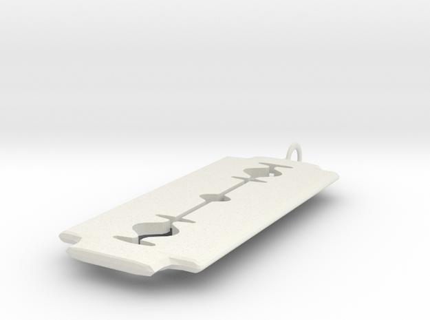 RazorBlade Pendant 3d printed