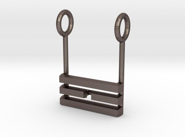 I Ching Trigram Pendant - Li Lower 3d printed